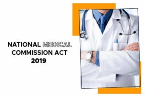 National Medical Commission Act 2019